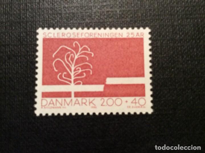 DINAMARCA Nº YVERT 754*** AÑO 1982. 25 ANIVERSARIO SOCIEDAD DANESA DE ENFERMOS DE ESCLEROSIS (Sellos - Extranjero - Europa - Dinamarca)