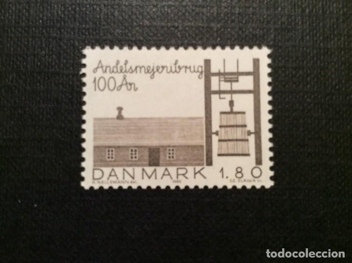 DINAMARCA Nº YVERT 763*** AÑO 1982. CENTENARIO COOPERATIVA LECHERA DE HJEDDING (Sellos - Extranjero - Europa - Dinamarca)