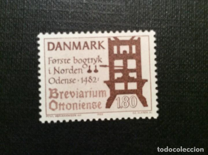 DINAMARCA Nº YVERT 766*** AÑO 1983. 5º CENTENARIO INTRODUCCION DE LA IMPRENTA EN DINAMARCA (Sellos - Extranjero - Europa - Dinamarca)