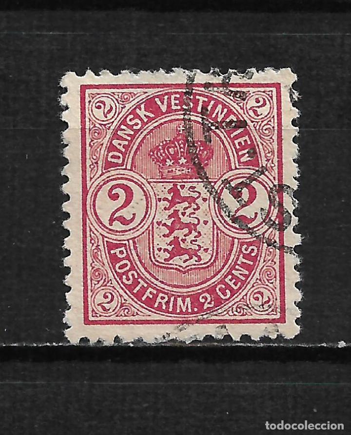 DANISH WEST INDIES 1900 SC# 22 USADO - 15/44 (Sellos - Extranjero - Europa - Dinamarca)