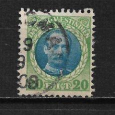 Sellos: DANISH WEST INDIES 1907-05 SC# 46 USADO - 15/44. Lote 201897441
