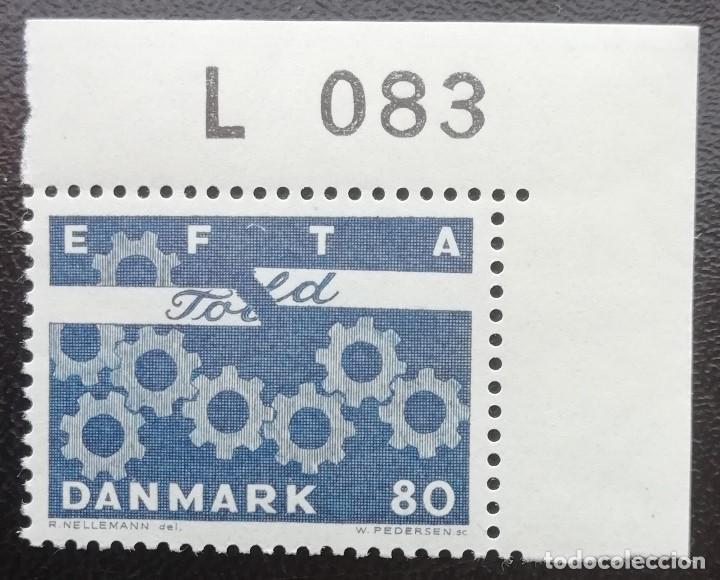1967. DINAMARCA. 457. ASOCIACIÓN EUROPEA DE LIBRE COMERCIO (EFTA). SERIE COMPLETA. NUEVO. (Sellos - Extranjero - Europa - Dinamarca)