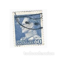 Sellos: SELLO DINAMARCA REY FEDERICO IX 60. Lote 203802250