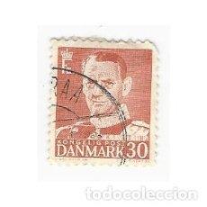 Sellos: SELLO DINAMARCA REY FEDERICO IX 30. Lote 203802361