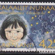 Selos: GROENLANDIA 1996 - SELLO USADO YVERT Nº 276. Lote 205310753