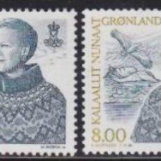 Selos: GROENLANDIA 2000 - SERIE COMPLETA MATASELLADA. Lote 205310822