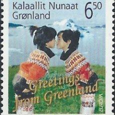 Sellos: GROENLANDIA, 2004 YVERT Nº 401 /**/, EUROPA (CEPT), VACACIONES. Lote 206188678