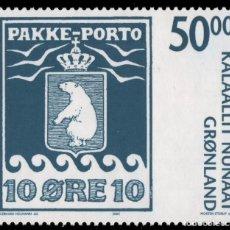 Sellos: GROENLANDIA, 2005 YVERT Nº 431 /**/, CENTENARIO DEL PAQUETE POSTAL. Lote 206188926