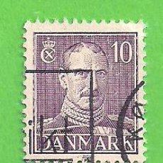 Sellos: DINAMARCA - MICHEL 369A - YVERT 282 - REY CRISTIAN X. (1942).. Lote 206803267