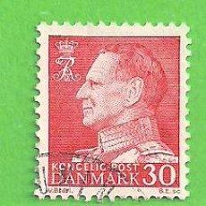 Sellos: DINAMARCA - MICHEL 391X - YVERT 399 - FREDERIK IX. (1961).. Lote 206804152