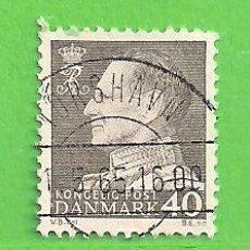 Sellos: DINAMARCA - MICHEL 393X - YVERT 401 - FREDERIK IX. (1961).. Lote 206804555