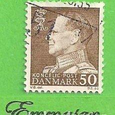 Sellos: DINAMARCA - MICHEL 457X - YVERT 464 - FREDERIK IX. (1967).. Lote 206805006