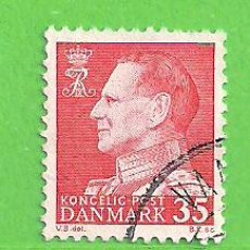 Sellos: DINAMARCA - MICHEL 412 - YVERT 421 - FREDERIK IX. (1963).. Lote 206809568