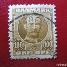 Timbres: +DINAMARCA 1907, FREDERIC VIII, YVERT 61. Lote 210475387