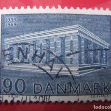 Sellos: +DINAMARCA 1969, EUROPA,YVERT 490. Lote 210681929
