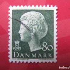 Sellos: +DINAMARCA MARGRETHE II, YVERT 569. Lote 210682360