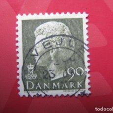 Sellos: +DINAMARCA 1976, MARGRETHE II, YVERT 625. Lote 210682585