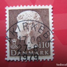 Sellos: +DINAMARCA 1979, MARGRETHE II, YVERT 682. Lote 210725920