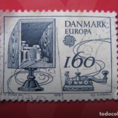 Sellos: +DINAMARCA 1979,EUROPA, YVERT 688. Lote 210726007