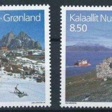 Sellos: GROENLANDIA 1993 IVERT 222/3 *** NORDEN-93 - TURISMO EN LOS PAÍSES NÓRDICOS. Lote 212374665