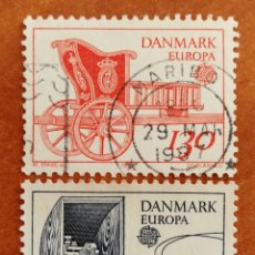 Sellos: DINAMARCA, EUROPA CEPT 1979 USADOS (FOTOGRAFÍA REAL). Lote 213609547