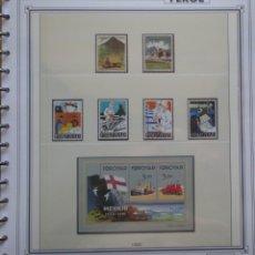 Sellos: ISLAS FEROE - COLECCION AÑOS 1990 AL 1994 - NUEVOS ** TODO ESTA EN LAS 10 FOTOS - LEER COMENTARIO. Lote 215739308