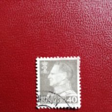 Timbres: DINAMARCA - VALOR FACIAL 40 - AÑO 1965 - REY FEDERICO IX - YV 422. Lote 216629716
