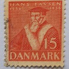 Sellos: DANMARK HANS TAVSEN 1936. Lote 217760168