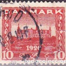 Sellos: 1920 - DINAMARCA - CASTILLO DE ELSINOR - YVERT 122. Lote 221740825