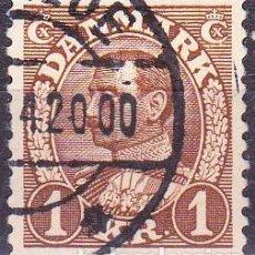 Sellos: 1933 - DINAMARCA - REY CHRISTIAN X - YVERT 224. Lote 221746736