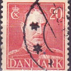 Sellos: 1943 - DINAMARCA - REY CHRISTIAN X - YVERT 284. Lote 221748027