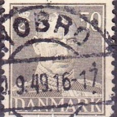 Sellos: 1943 - DINAMARCA - REY CHRISTIAN X - YVERT 289. Lote 221748130