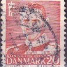 Sellos: 1948 - DINAMARCA - REY FEDERICO IX - YVERT 317. Lote 221748523