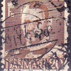 Sellos: 1948 - DINAMARCA - REY FEDERICO IX - YVERT 318. Lote 221748603