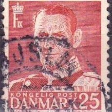 Sellos: 1948 - DINAMARCA - REY FEDERICO IX - YVERT 320. Lote 221748675