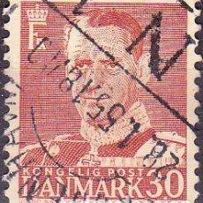 Sellos: 1948 - DINAMARCA - REY FEDERICO IX - YVERT 321A. Lote 221748782
