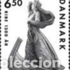 Sellos: SELLO USADO DE DINAMARCA YT 1573. Lote 222555972