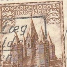 Sellos: 1953 DINAMARCA, MILENARIO DEL REINO, YVERT 349. Lote 222576560