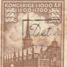 Sellos: 1953 DINAMARCA, 20 KONGERIGE 1600 1700. Lote 222577920