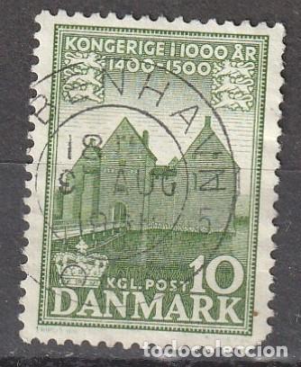 1954 DINAMARCA MILENARIO, YVERT 353 (Sellos - Extranjero - Europa - Dinamarca)