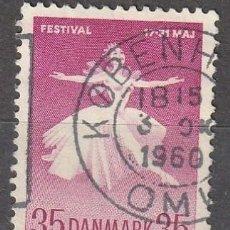 Sellos: 1959 DINAMARCA YVERT 382 BALLET NACIONAL Y FESTIVAL DE MÚSICA. Lote 222580260