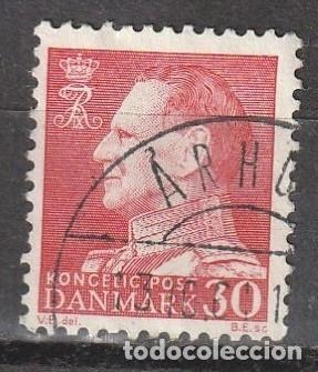 DINAMARCA 1959 FEDERICO IX PERFIL. VALOR 30 (Sellos - Extranjero - Europa - Dinamarca)