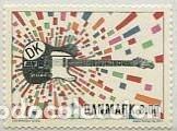 SELLO ADESIVO USADO DE DINAMARCA, YT 1716 (Sellos - Extranjero - Europa - Dinamarca)