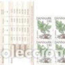 Sellos: CARNE NUEVO DE DINAMARCA 1992, YT C 1028. Lote 229348365