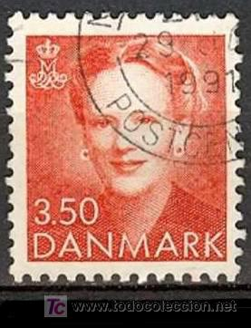 DINAMARCA 1990. BÁSICO: REINA MARGARITA II (Sellos - Extranjero - Europa - Dinamarca)