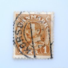 Sellos: SELLO POSTAL DINAMARCA 1934, 1 DKR , REY CHRISTIAN X, USADO. Lote 236692700