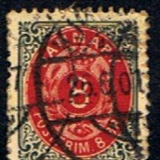 Sellos: DINAMARCA // YVERT 24 // 1875-03 ... USADO. Lote 237358680