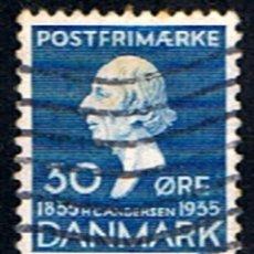 Sellos: DINAMARCA // YVERT 234 // 1935 ... USADO. Lote 237358985