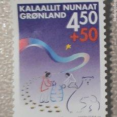 Timbres: SELLO GROENLANDIA/GRONLAND/ KALAALLIT NUNAAT. Lote 243478550