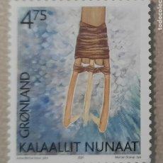 Sellos: SELLO GROENLANDIA/GRONLAND/KALAALLIT NUNAAT -SIN CIRCULAR-2001. Lote 244548895